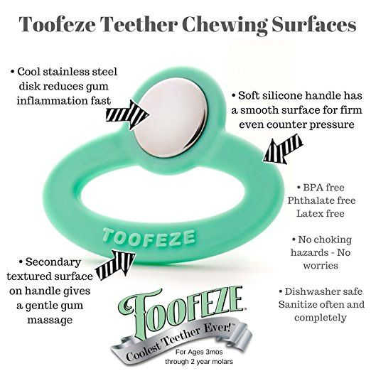 Toofeze Teether- Mint