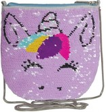Unicorn Reversable Sequin Crossbody Bag