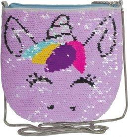Unicorn Reversible Sequin Crossbody Bag