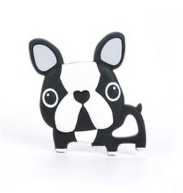 LLL Boston Terrier Teether- Black
