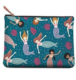 Zippered Pouch Medium Mermaid Tales