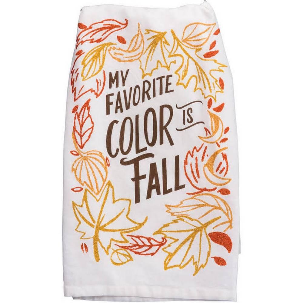 Dish Towel - Color Fall