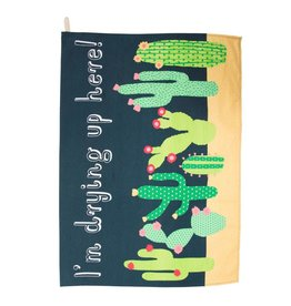 Colorful Cactus Tea Towel S&B