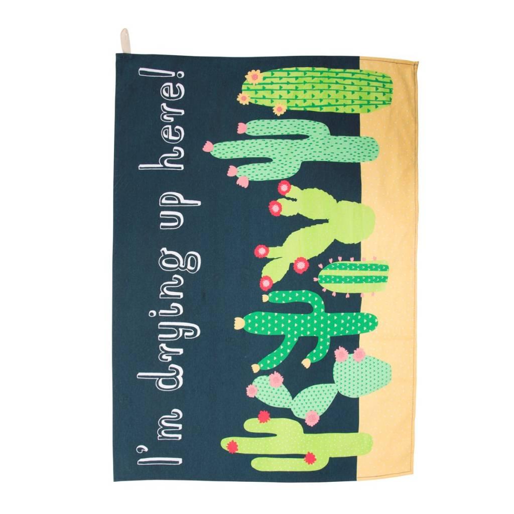 Colorful Cactus Tea Towel S&B