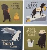 Coaster Set- Never Camp