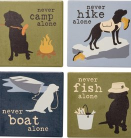 Coaster Set- Never Camp