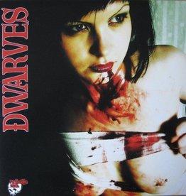 No Balls Records Dwarves / Blag Dahlia Split on Splatter Vinyl - With Poster