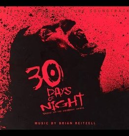 Brian Rietzell - 30 Days Of Night (Soundtrack) [2LP] (Blood Red Vinyl, first time on vinyl, gatefold, download, limited to 1000, indie-retail exclusive)