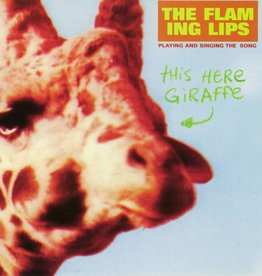 Flaming Lips, The - This Here Giraffe [10''] (Orange & Clear Colored Vinyl, limited to 2000, indie-retail exclusive)