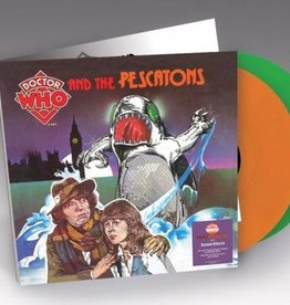 RSD17 Various Artists - Dr Who & The Pescatons & Sound Effects (Soundtrack) [2LP] (180 Gram Pescaton Green Colored Vinyl & Orange Vinyl, gatefold, limited to 2000, indie-retail exclusive)