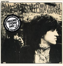 "RSD17 Nikki Sudden / Dave Kusworth - Shame For The Angels EP [Record Store Day] (7"")"