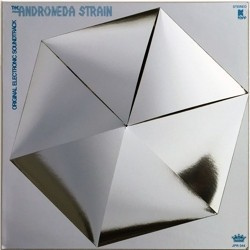 RSD17 Gil Melle - The Andromeda Strain (Soundtrack) [LP] (Hexagon Shaped Vinyl, silver foil die cut jacket, limited to 1500, indie-retail exclusive)