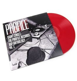 RSD17 Various Artists - Giant Single: Profile Records Rap Anthology Vol. 1 [2LP] (150 Gram Red Vinyl, gatefold, limited to 2500, indie-retail exclusive)