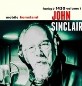 RSD17 John Sinclair - Mobile Homeland [LP] (Random 600 Red/600 White Vinyl, feats. Members of MC5 and The Detroit Cobras, insert, download, indie-exclusive)