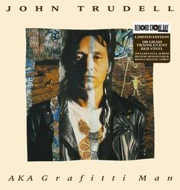 RSD17 John Trudell - AKA Graffiti Man [2LP] (180 Gram Translucent Red Vinyl, limited to 2000, indie-retail exclusive)