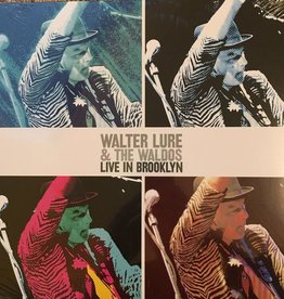 RSD17 Walter Lure & The Waldos - Live In Brooklyn [LP] (limited to 1000, indie-retail exclusive)