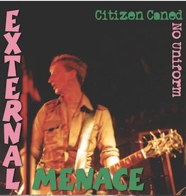 "Violent Society / External Menace Split 12"" (Translucent Green)"