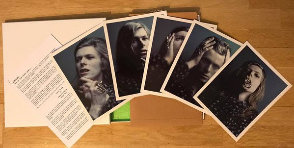 RSD17 David Bowie - BOWPROMO (GEM Promo) [LP Box] (single sided feat. 7 tracks from original promo, reproduced Kraftpack envelope, 5 Bowie prints, limited to 5000, indie-retail exclusive)