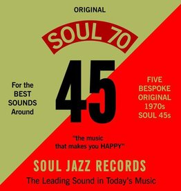 RSD17 Various Artists - Soul Jazz Records Presents:Soul 70 [5x7''] (limited to 500, indie-retail exclusive)