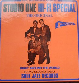 RSD17 Various Artists - Soul Jazz Records Presents:Studio One Hi-Fi [5x7''] (limited to 500, indie-retail exclusive)