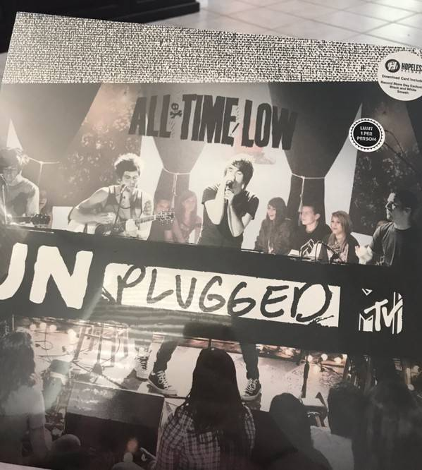 RSD17 All Time Low - MTV Unplugged [LP] (White & Black Vinyl, limited to 1300, indie-retail exclusive)