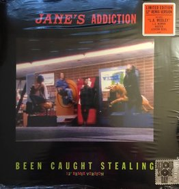 RSD17 Jane's Addiction - Been Caught Stealing (12'' Remix Version) [EP] (limited to 3500, indie-retail exclusive)
