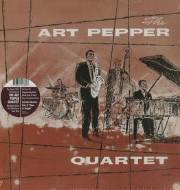 RSD17 Art Pepper - The Art Pepper Quartet (Mono) [LP] (limited to 1000, indie-retail exclusive)