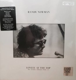 RSD17 Randy Newman - Lonely At The Top: The Studio Albums 1968-1977 [5LP+7'' Box] (Randy's first five studio albums, plus a bonus 7'' with unreleased tracks, limited to 1100, indie-retail exclusive)