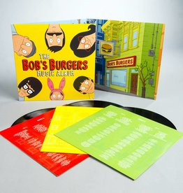 "Bob's Burgers - The Bob's Burgers Music Album (3 LP + 7"", Includes Download Card)"