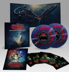 Stranger Things Soundtrack - Vol. 1 (Deluxe Red/Blue Splatter)