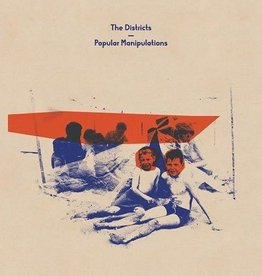 The Districts - Popular Manipulations (Orange Indie Store Exclusive Vinyl Color Limited to 800)
