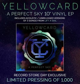 RSD-Yellowcard - A Perfect Sky [10''] (limited to 1000, indie-retail exclusive)