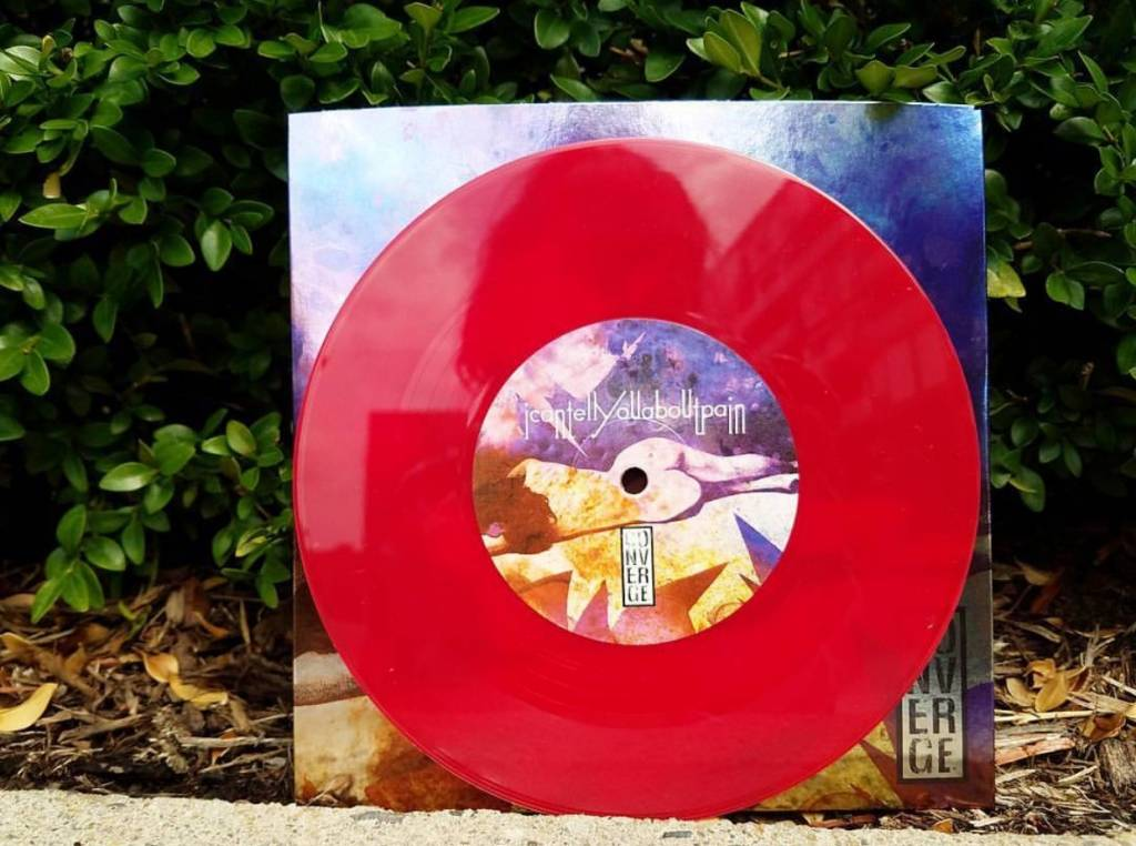 "Converge - I Can Tell You About Pain b/w Eve - 7""EP - Opaque  Red (Deathwish Exclusive)"