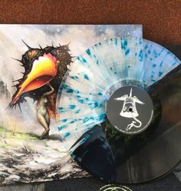 Circa Survive - The Amulet (Indie Exclusive Half Black / Half Clear with Blue Splatter Color Vinyl)