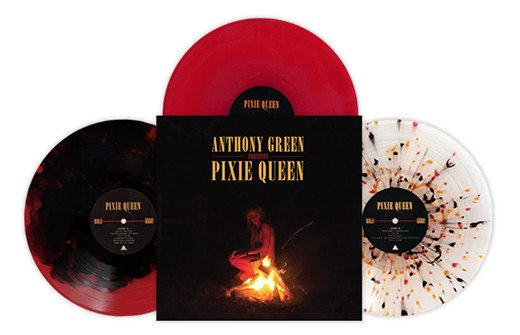 Anthony Green - Pixie Queen (Black / Red Color Vinyl) (Indie Exclusive)