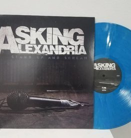 Asking Alexandria - Stand Up And Scream (Opaque Process Blue Vinyl, Includes Download)