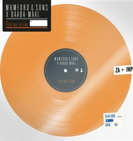 Mumford & Sons + Baaba Maal - There Will Be Time [7''] (Orange Colored Vinyl, new exclusive track, one-side release, indie-retail exclusive)