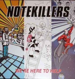 Notekillers - We're Here To Help (Red Vinyl)