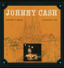 Johnny Cash - Koncert v Praze (In Prague- Live) [LP] (180 Gram, Soviet Red Vinyl, limited to 5000, indie-retail exclusive)