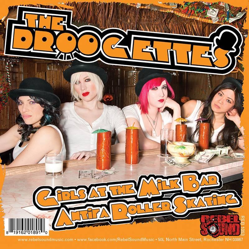 """External Menace / The Droogettes - Split 7"""""""