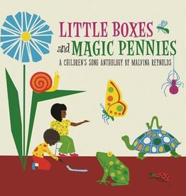 Malvina Reynolds - Little Boxes And Magic Pennies: An Anthology Of Children's Songs (1960-1977) [LP] (200 Blue, 200 White, 100 Black Vinyl ALL RANDOMLY INSERTED, gatefold, indie-retail exclusive)
