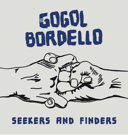 Gogol Bordello - Seekers and Finders (Blue/White Marble Indie Exclusive Color Vinyl)