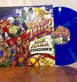 Wu-Tang - The Saga Continues (Blue Vinyl 2LP)