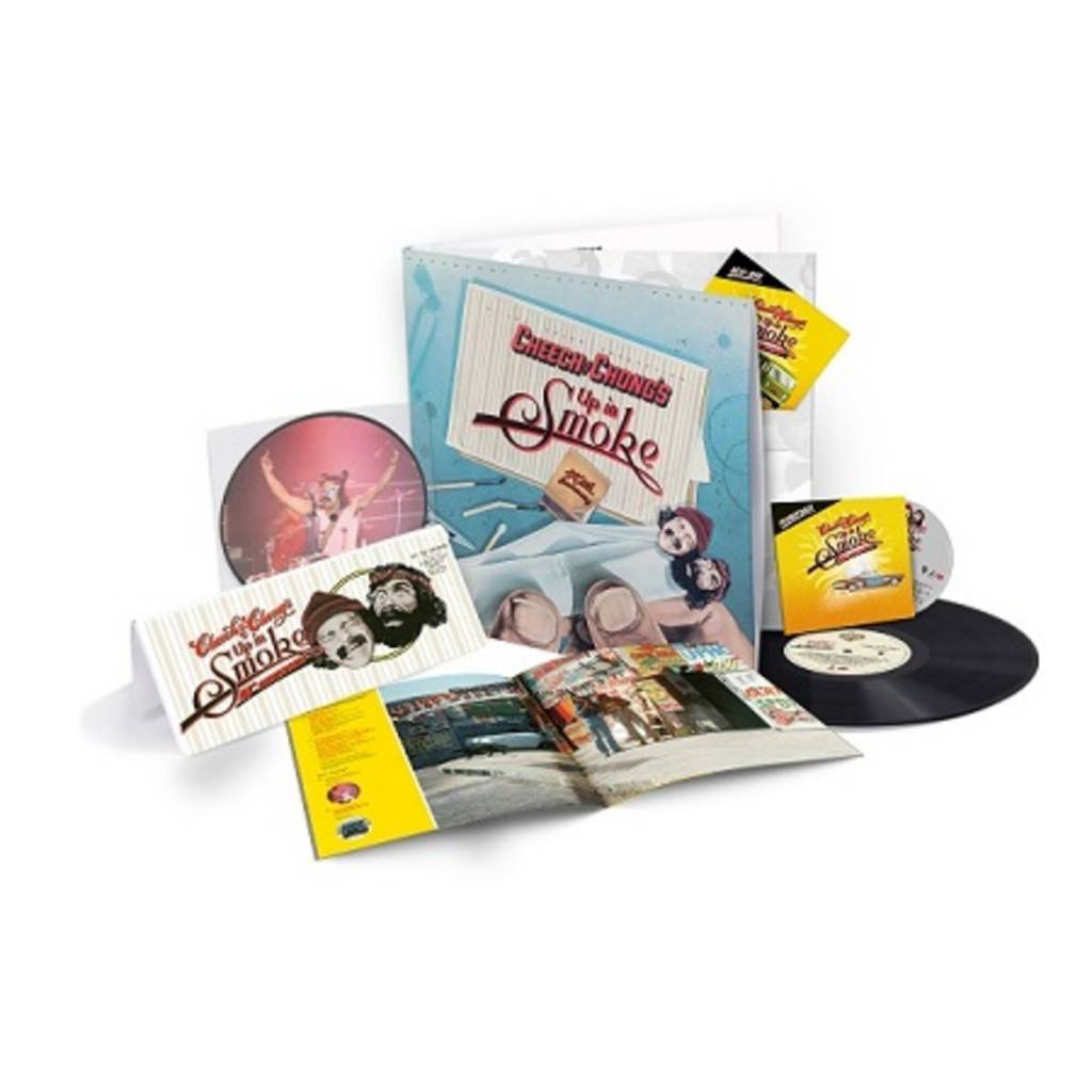 "(4.20 PREORDER) Cheech & Chong - Up In Smoke (40th Anniversary Deluxe Collection)(1CD/1Bluray/1LP/7"" Vinyl)"