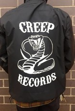 Creep Black Windbreaker Half Zip