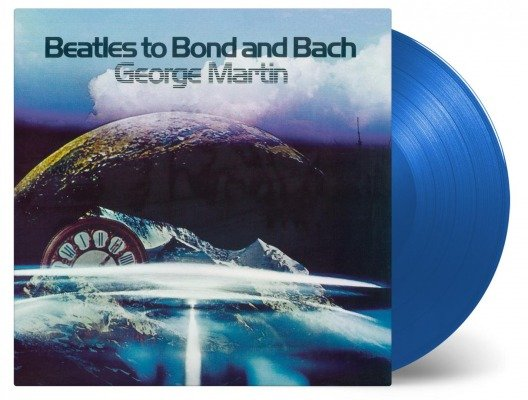 George Martin Beatles To Bond And Bach Lp Blue 180