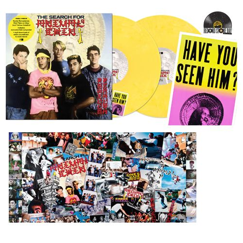 Powell Peralta - The Search For Animal Chin (Soundtrack) [2LP] (Yellow Colored Vinyl, gatefold, download, first time on vinyl, poster, limited to 1600, indie-retail exclusive)