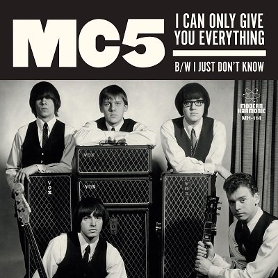 MC5 - I Can Only Give You Everything / I Just Don't Know [7''] (space age envelope-style sleeves, rare unseen band photos, limited to 1350, indie-retail exclusive)