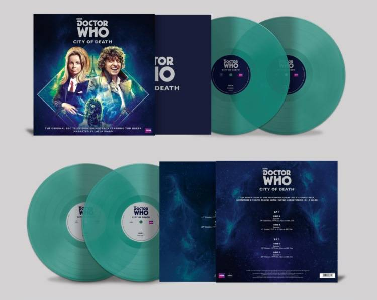 Dr. Who - City Of Death [2LP] (180 Gram, Colored Vinyl, gatefold, brand new artwork, limited, indie-retail exclusive)