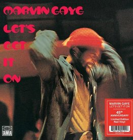 Marvin Gaye - Let's Get It On [LP] (Red 180 Gram Vinyl, 45th Anniversary limited to 1000, indie advance exclusive)